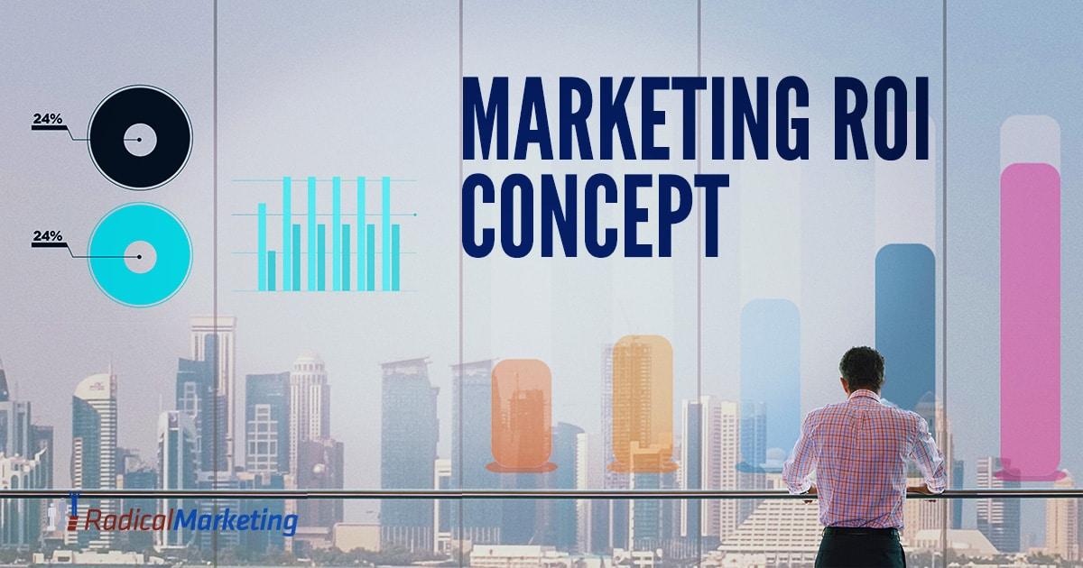 Marketing ROI Concept Blog header - Facebook 1200 X 630