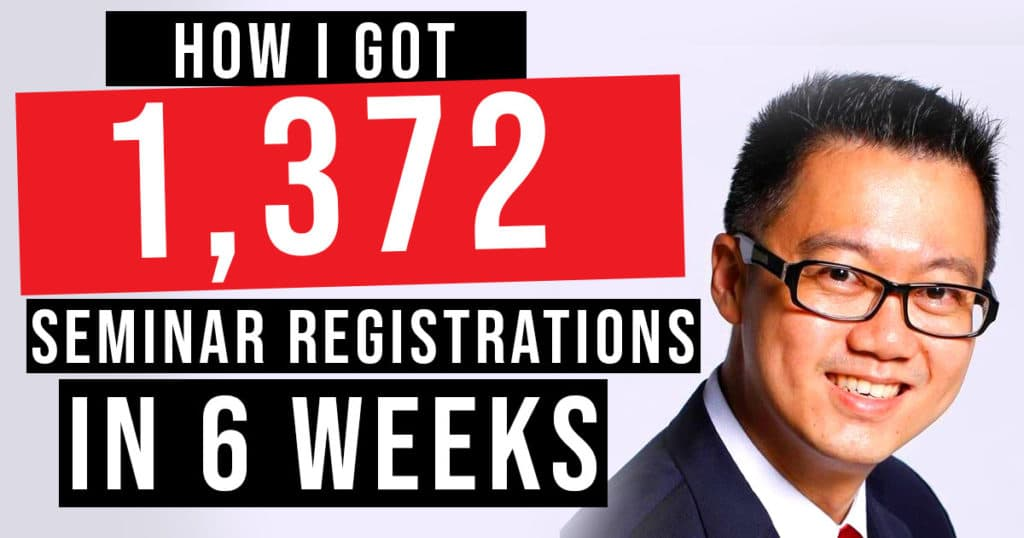 1372 Seminar Registrations in Just 6 Weeks