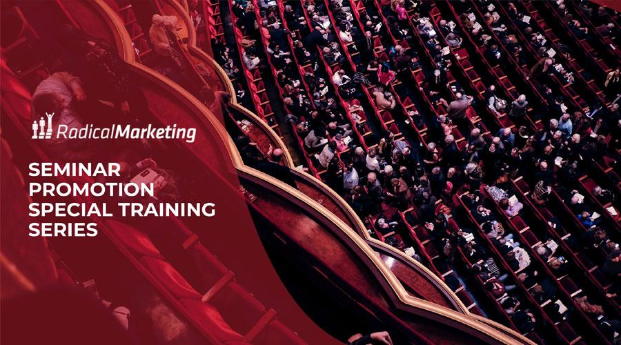 Seminar Promotion - Special Training Series
