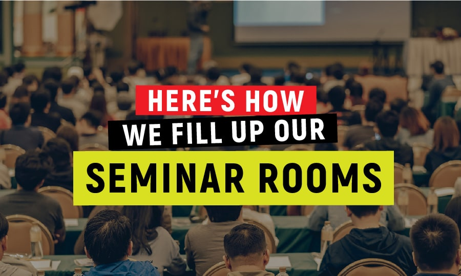 How we fill up our seminar rooms