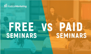 Free vs paid seminars