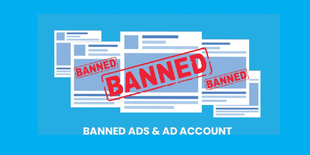 banned ads and ad account